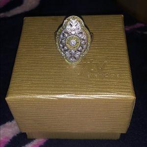 JTV Bella Luce Vintage Inspired Ring